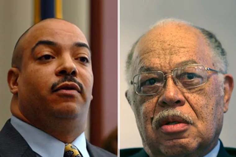 Philadelphia District Attorney Seth Williams (left) is pursuing the death penalty against abortion doctor Kermit Gosnell.