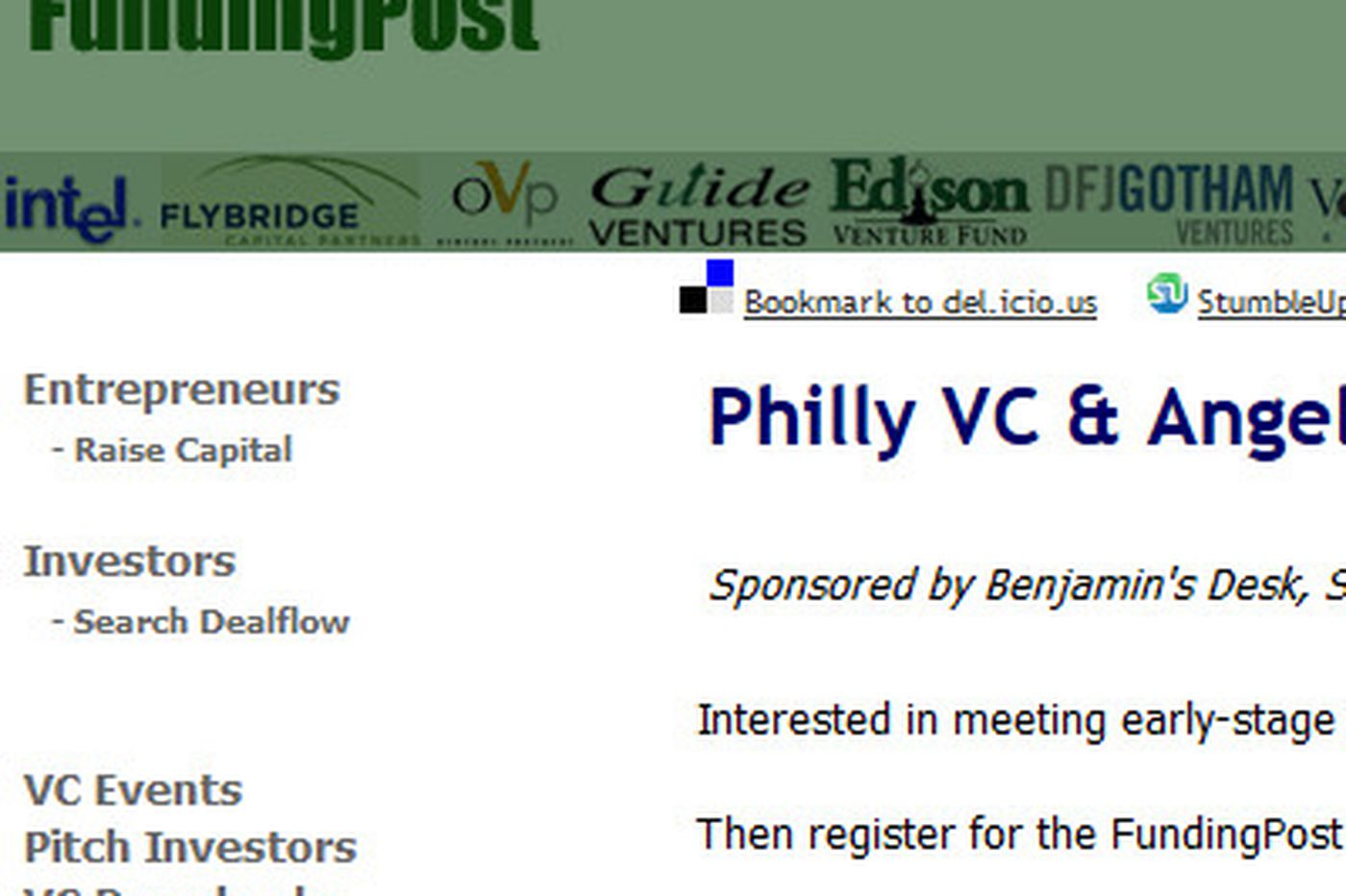 PhillyInc: Start-ups and venture capitalists will gather this week in Philadelphia area