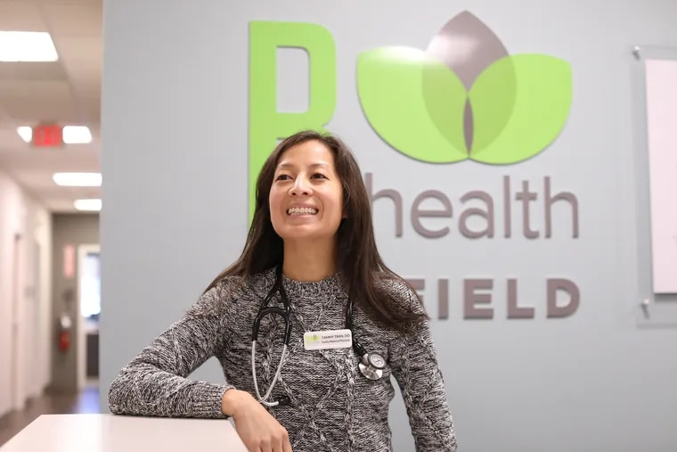 Tammy Tran is a primary-care physician at R-Health's clinic at Clemens Food Groupin Hatfield.