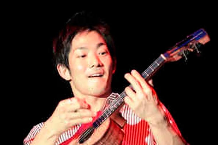 Ukulele virtuoso Jake Shimabukuro is at the Colonial tonight.