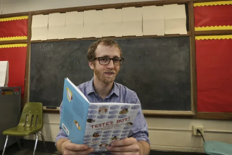 'I had test-itis': While kids are taking PSSAs, this teacher might be writing subversive poetry