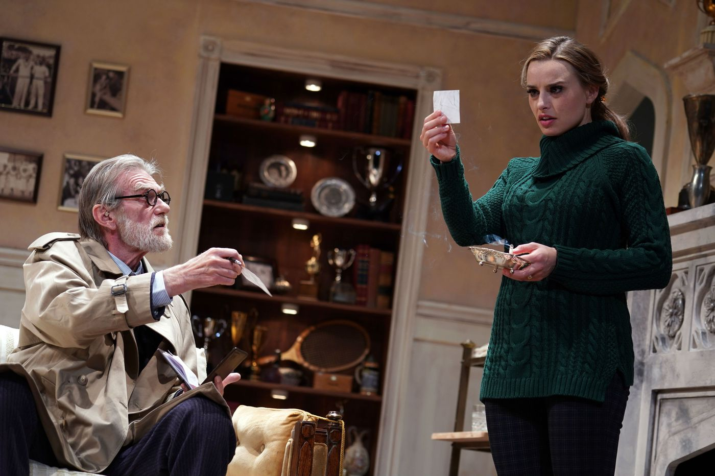 'Dial M for Murder' at Bucks County Playhouse: A production distracted by the play's own razzle-dazzle