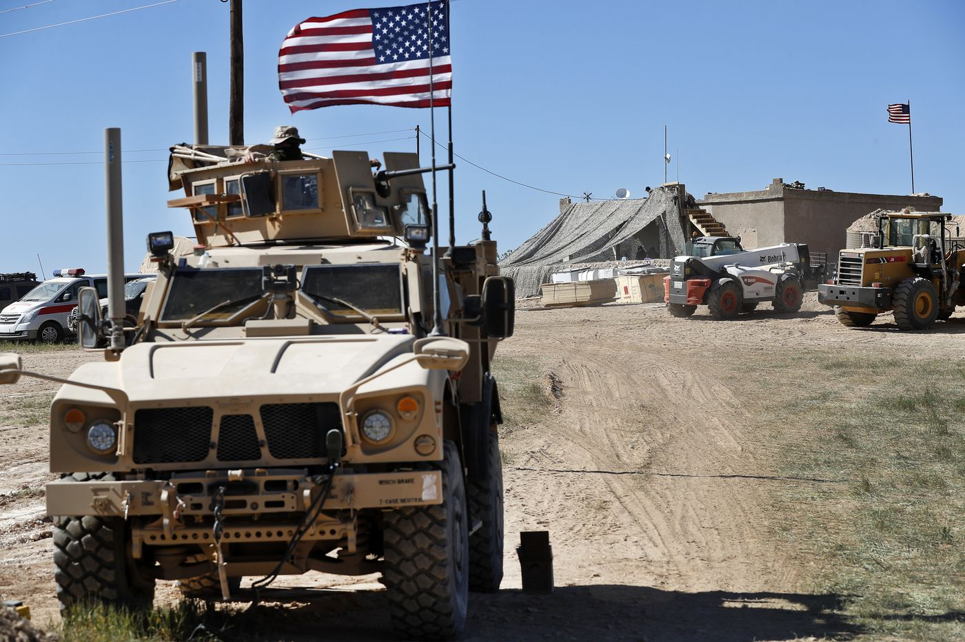 U.S. military announces start of Syria troop withdrawal