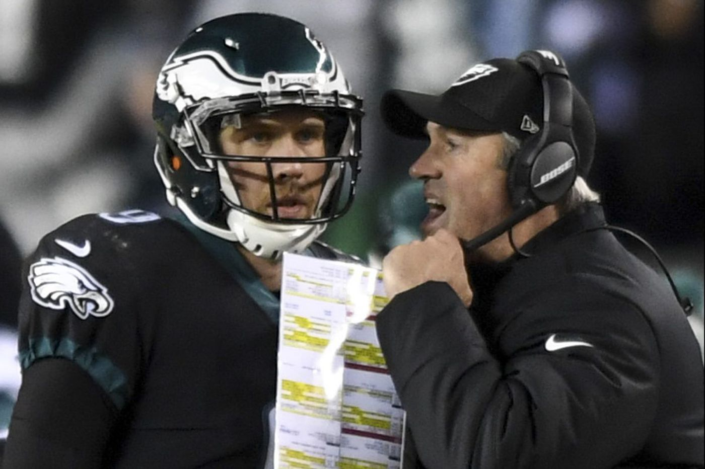 Doug Pederson has not made a decision about resting key players, hints he'll play Nick Foles vs. Dallas Cowboys