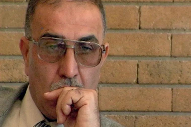 Riyadh al-Adhadh, a Sunni doctor, was recently jailed by Iraq on terrorism charges, an allegation acquaintances call ludicrous. (LAURA POITRAS)
