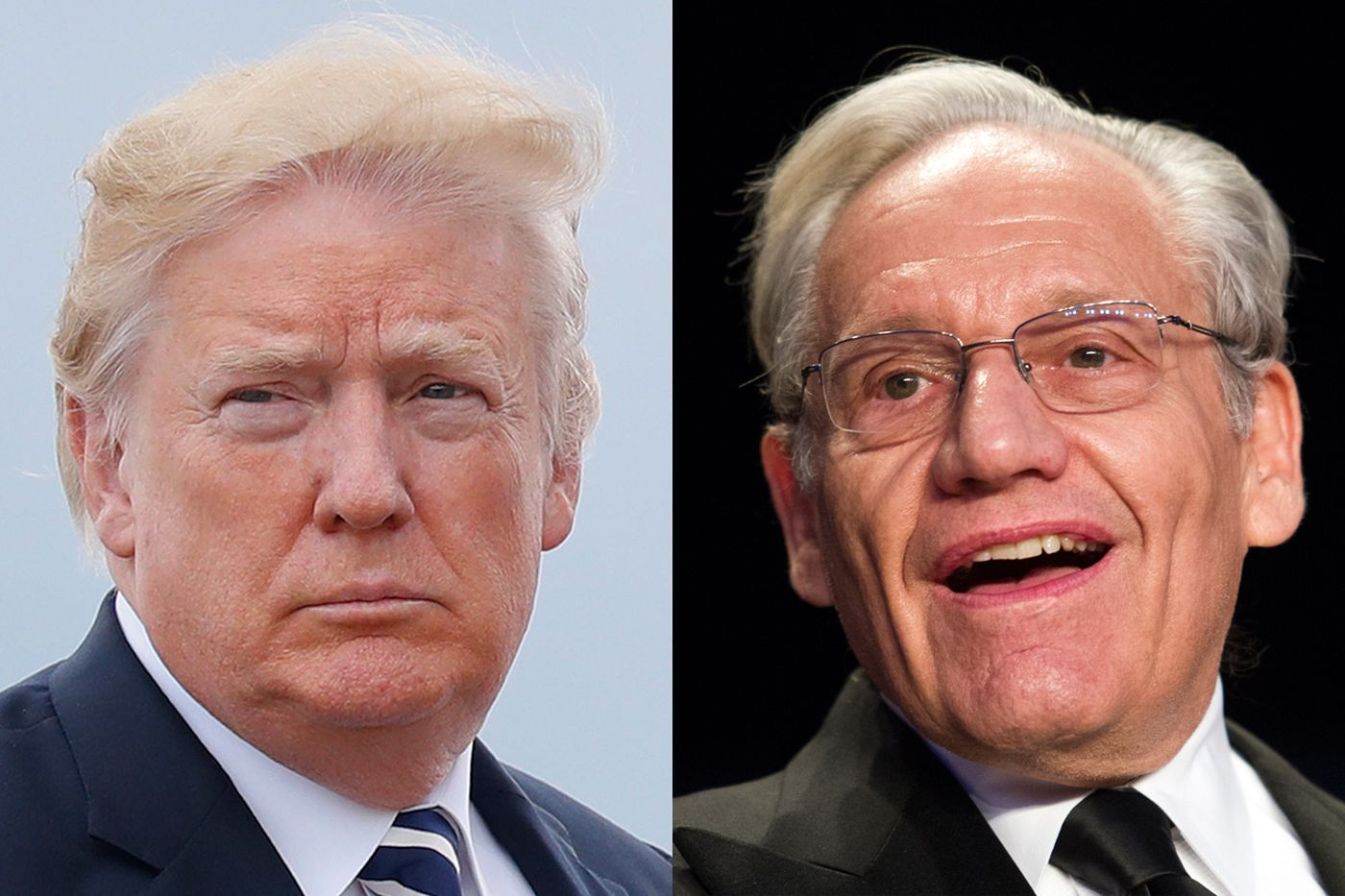 Woodward book reveals 'crazytown' Trump White House