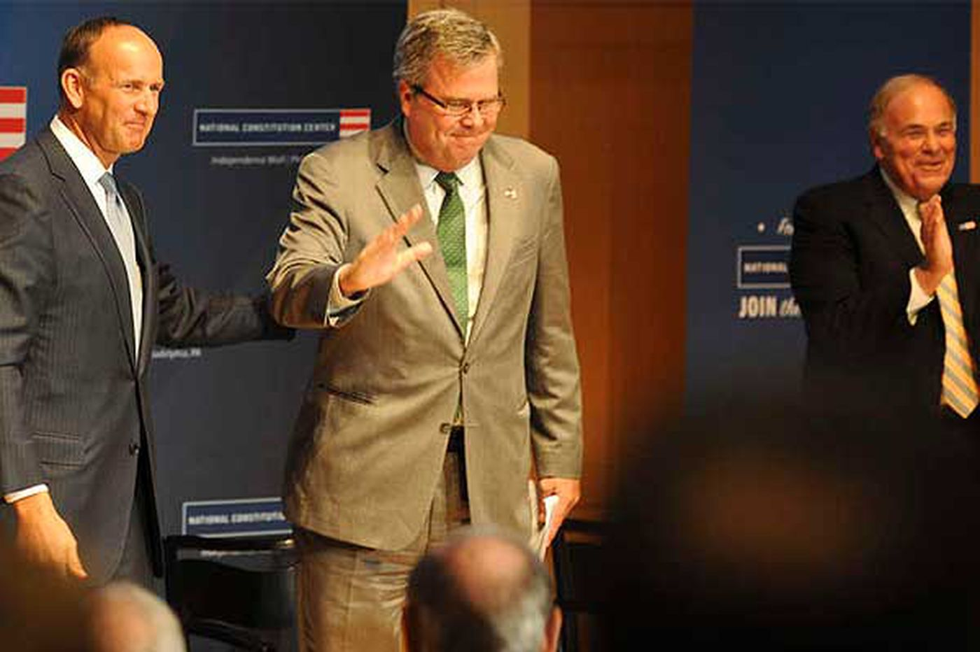 Jeb Bush elected chairman of National Constitution Center board of trustees