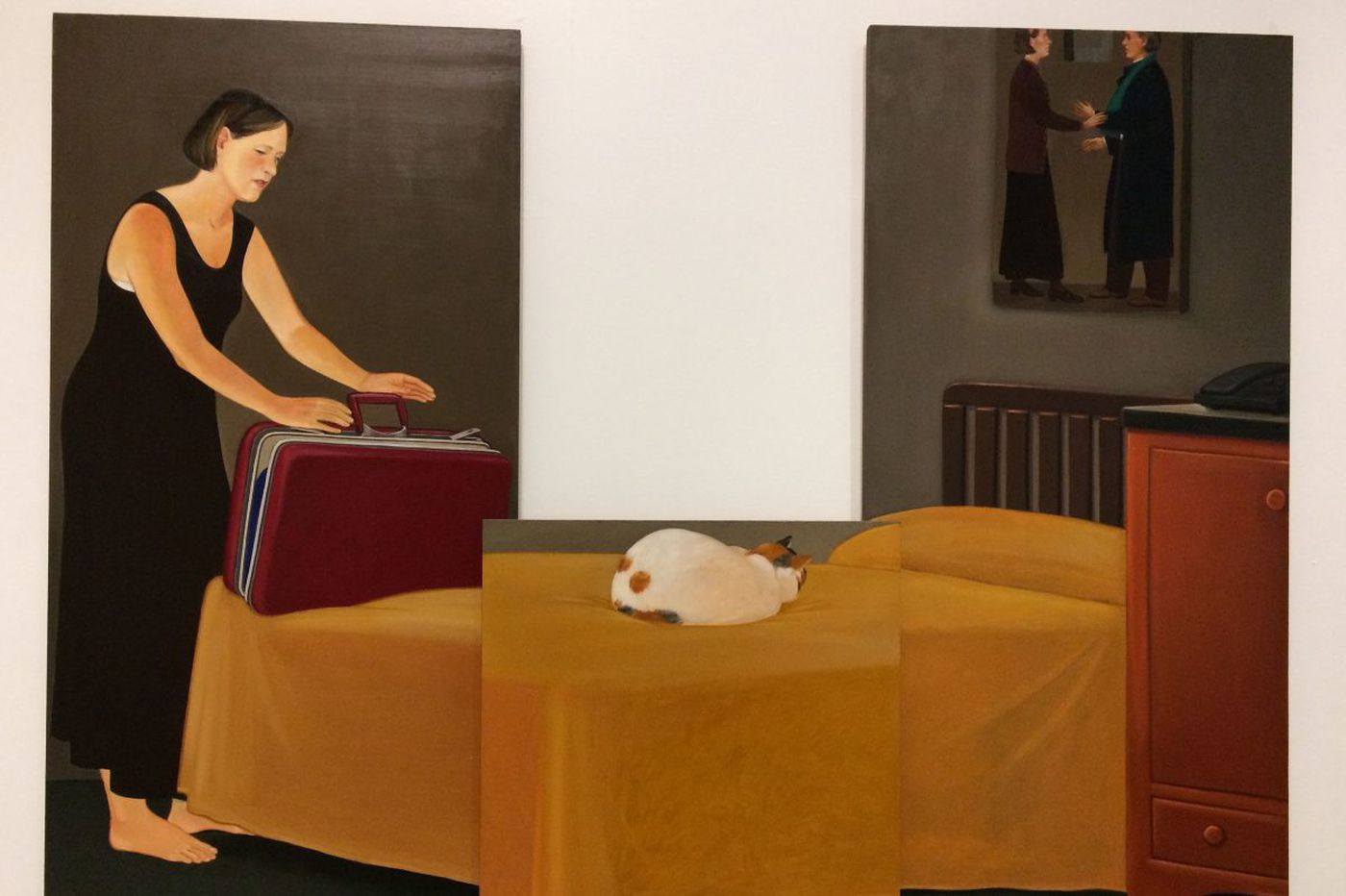 In Philly galleries now: 3 local faves at Drexel, Dieu Donné hand-made paper, realist paintings
