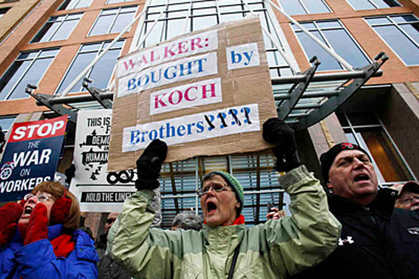 Union-busting brothers heading our way