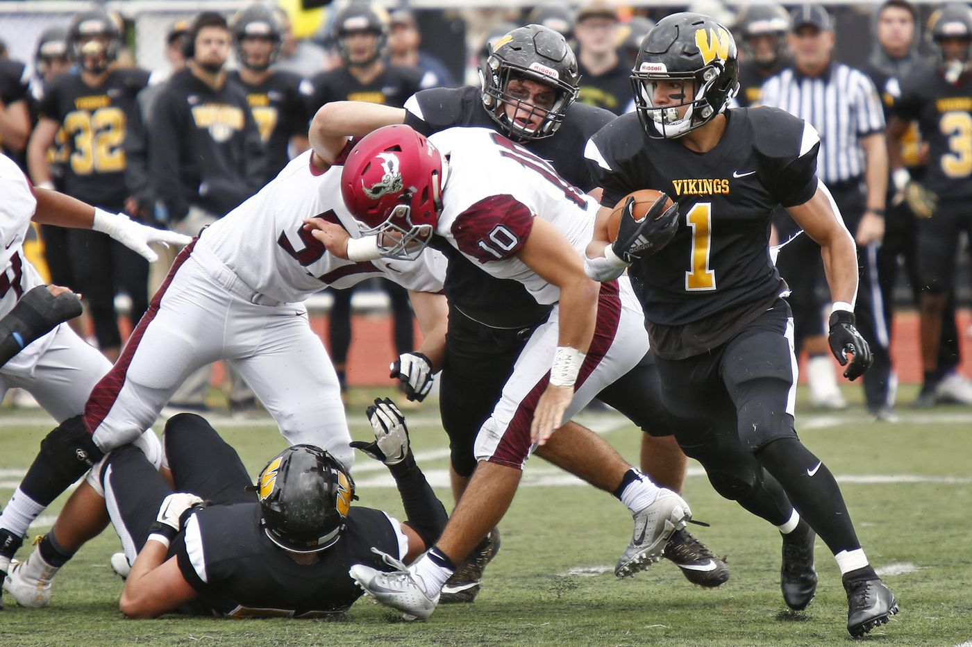 Friday's Southeastern Pa. football roundup: Tom Santiago rushes Archbishop Wood to state PIAA Class 5A semifinals