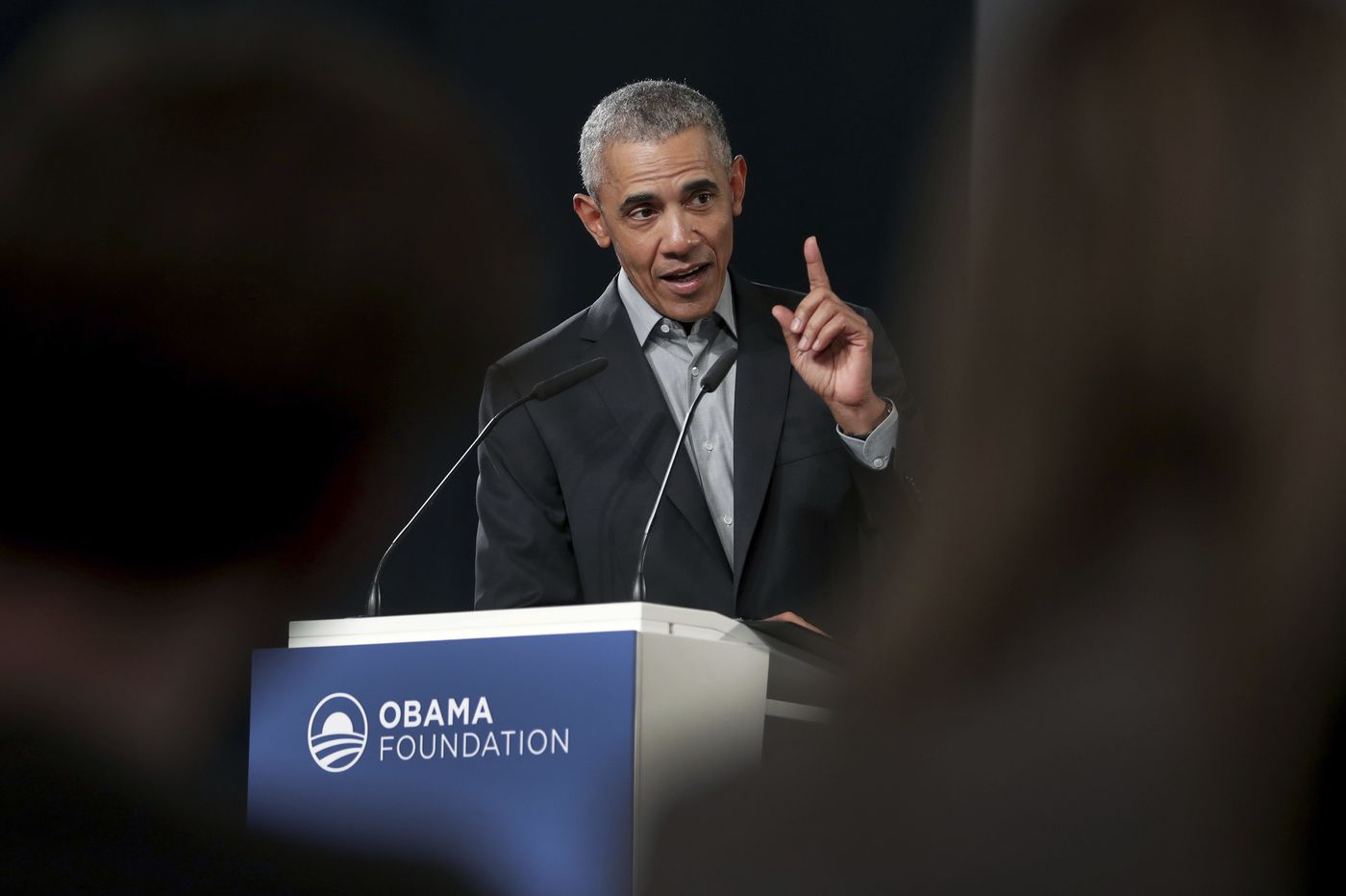 Obama speaks out on unrest, urges focus on state and local elections