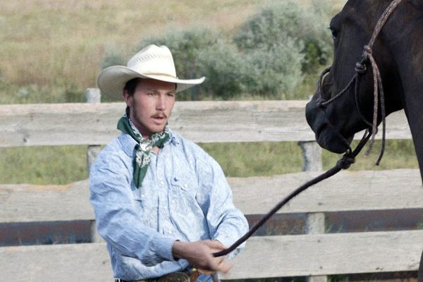 The western rides back from the sunset in 'The Rider,' one of the best films of the year