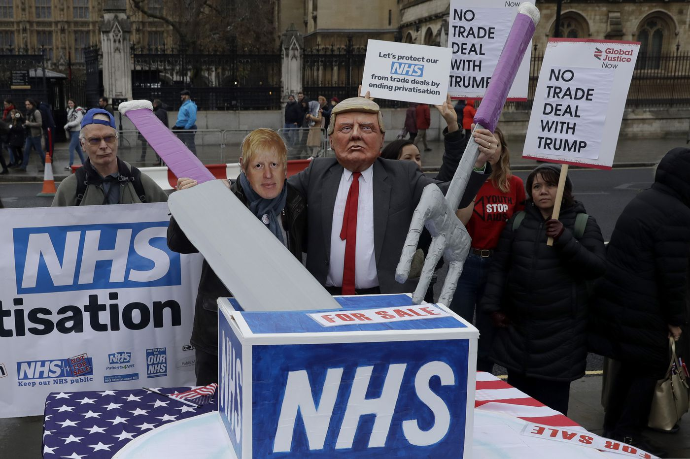 Brexit wasn't the only issue for British voters. Health care is big too. l Opinion
