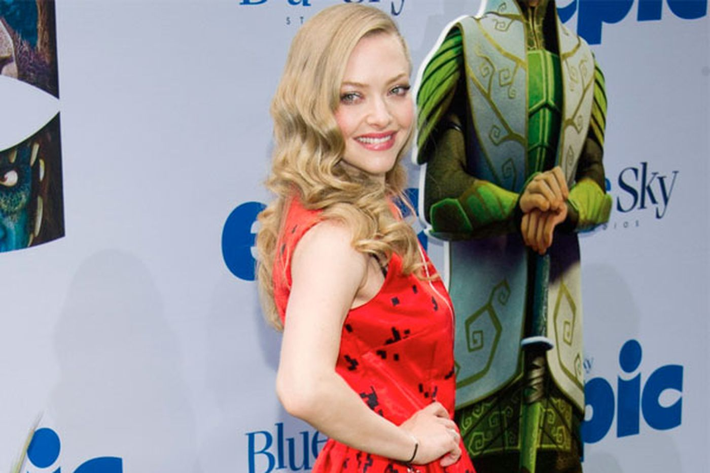 Sideshow: Why Seyfried lost her curves