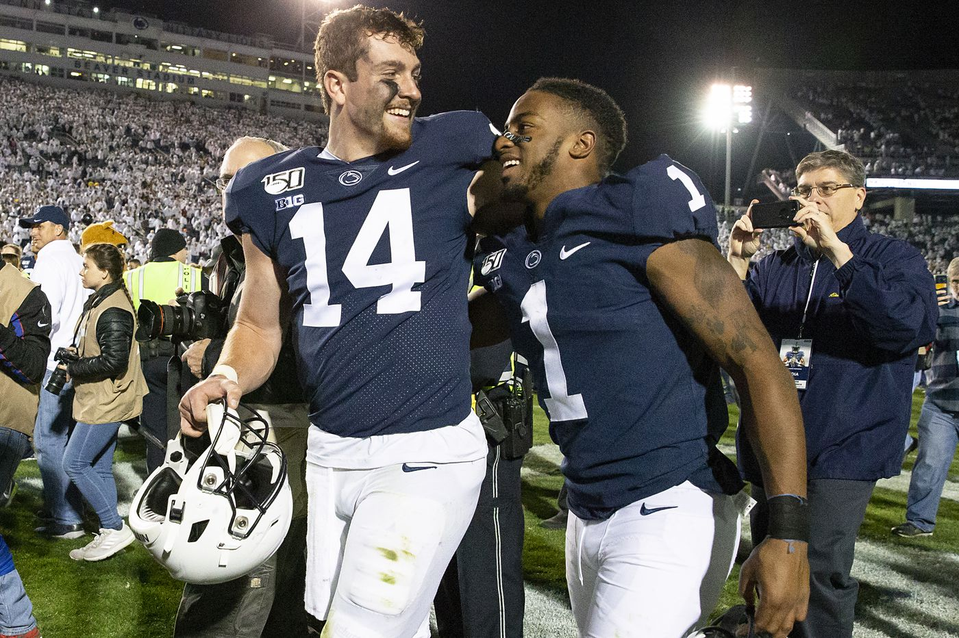 Five observations from Penn State's thrilling 28-21 victory over Michigan
