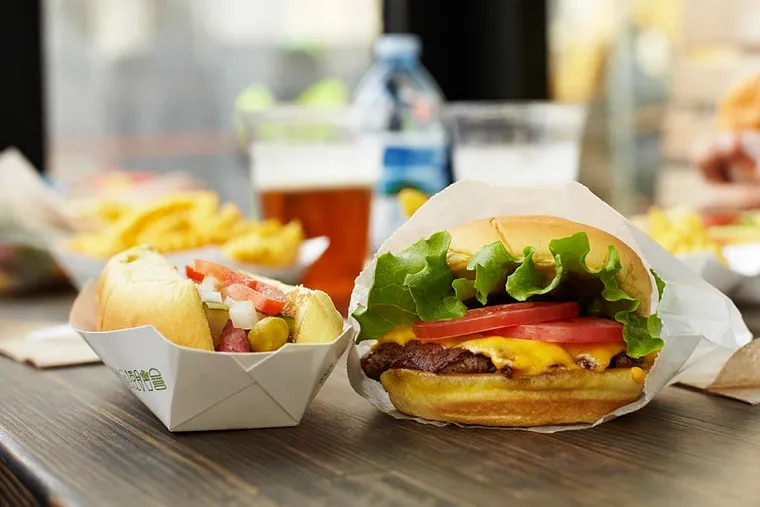 Shake Shack, founded in Manhattan, opened its first Philadelphia-area location in 2012 in Center City.