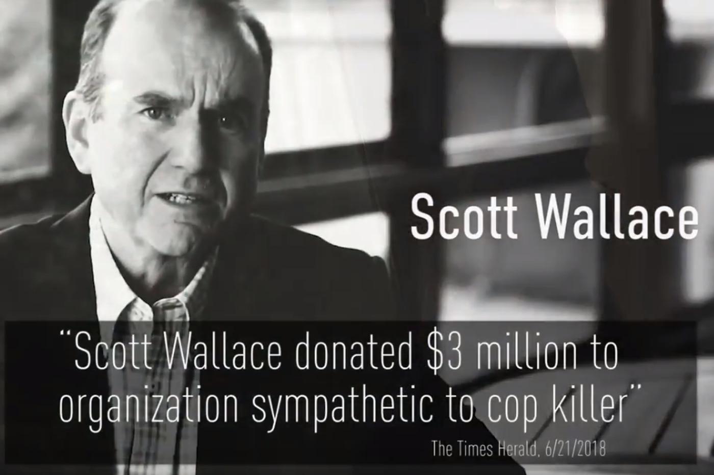 TV stations stop airing ad alleging Democrat Scott Wallace helped fund cop-killer Mumia Abu-Jamal's defense