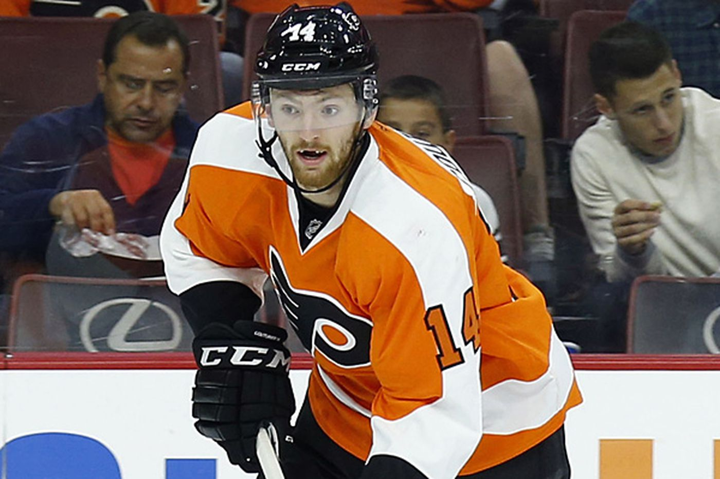 Flyers' Couturier flashing offense