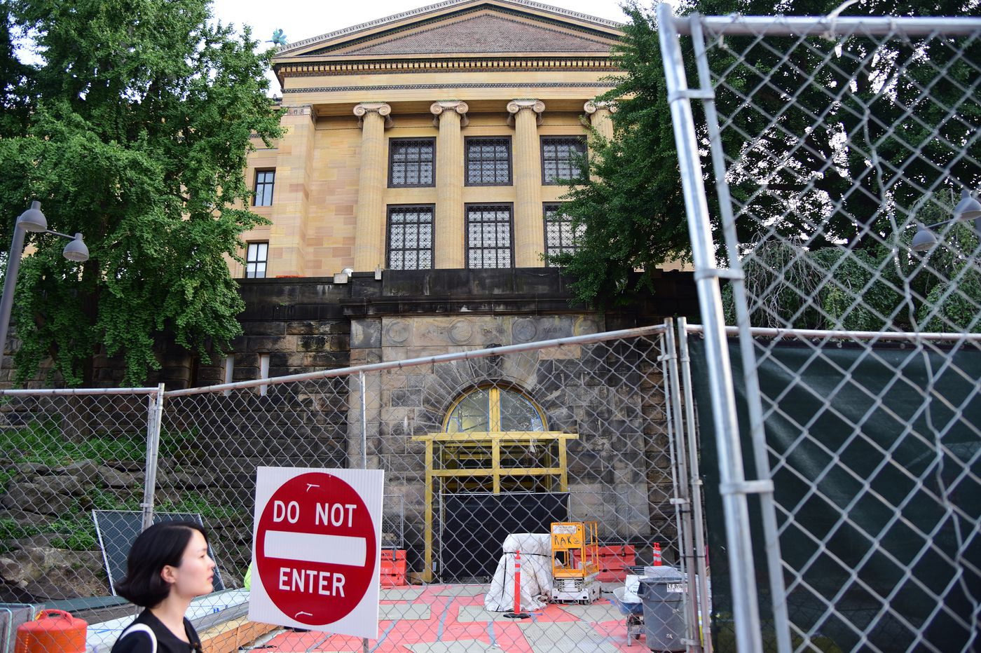 The Philadelphia Museum of Art is tearing itself apart in plain view. Here's what to know as construction ramps up.
