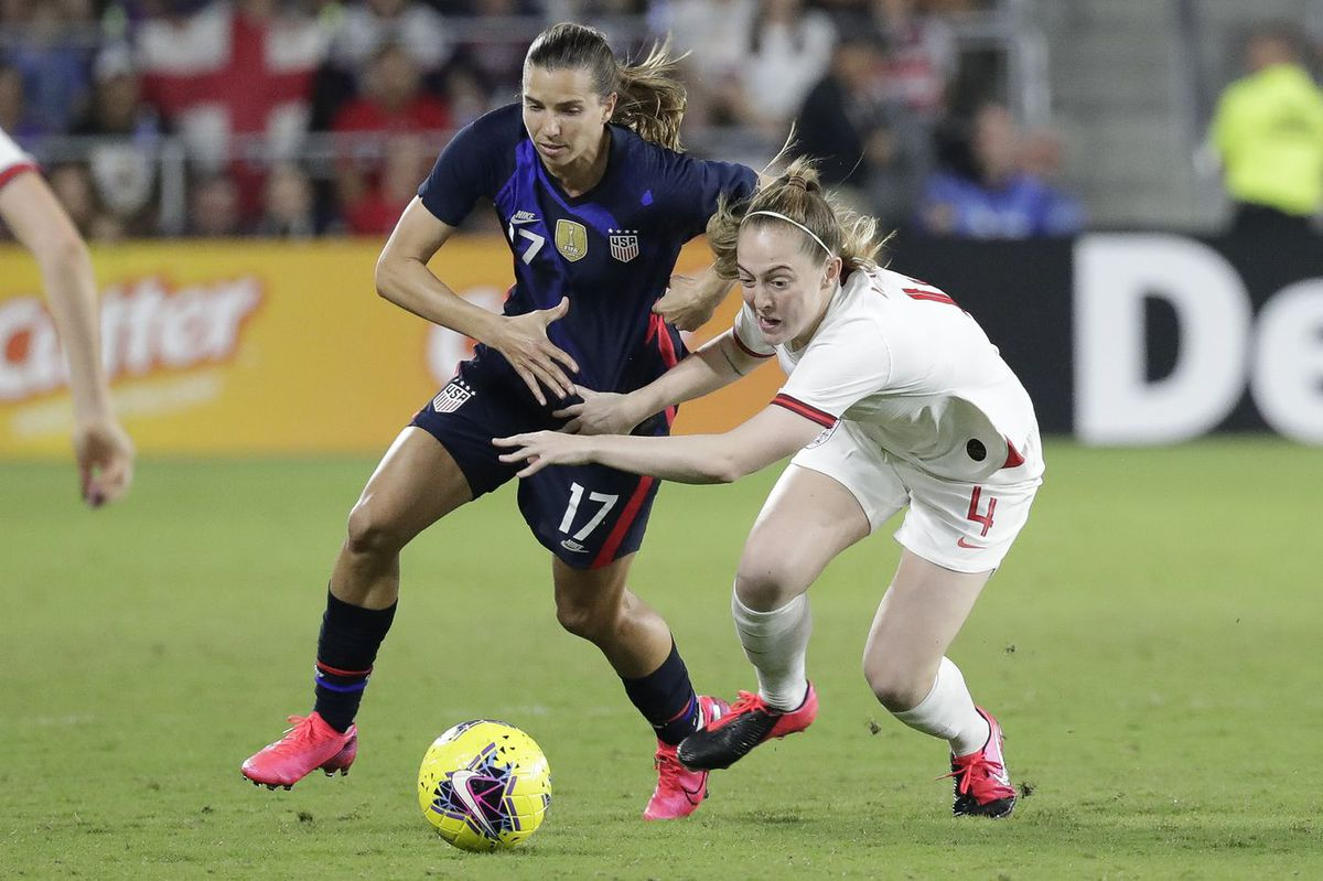 USWNT star Tobin Heath takes her long-awaited shot at playing in England