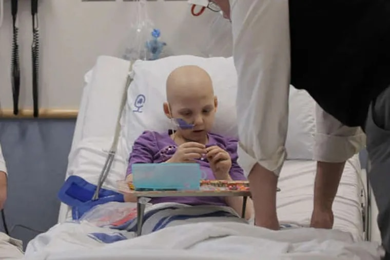 """Episode 3 of PBS's """"Cancer: The Emperor of All Maladies"""" follows Emily Whitehead, a leukemia patient at Children's Hospital of Philadelphia."""