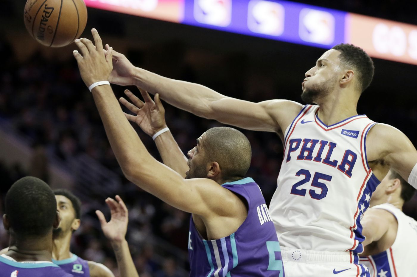 Sixers hold off Hornets, snap losing streak behind Joel Embiid's dominant night
