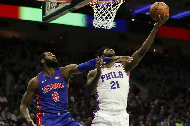 Joel Embiid takes to Twitter, Instagram to roast Andre Drummond after Sixers beat Pistons