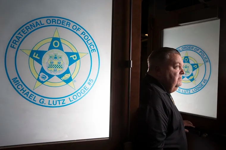 John McNesby, President of the Fraternal Order of Police, Lodge #5, is shown on Sept. 4, 2019.