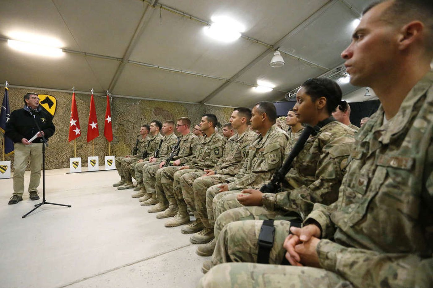 U.S. change on Afghan force?