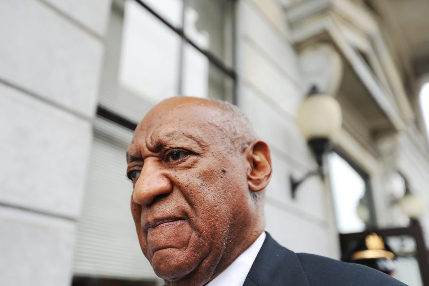 Who recorded and posted video of Cosby courtroom?
