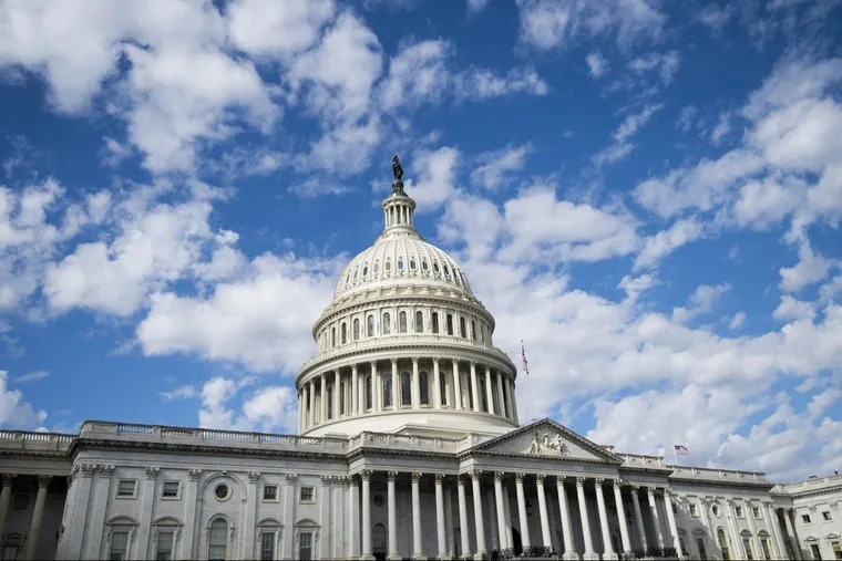 The U.S. Capitol building on Wednesday, Oct. 25, 2017.