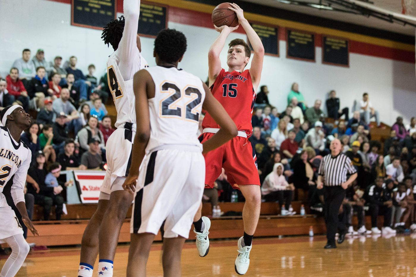 Chris Arcidiacono signs letter of intent to play basketball at Villanova