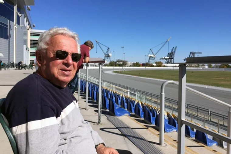 Ed Maseiangelo watches races at Harrah's four days a week but said he spends more gambling money playing blackjack.