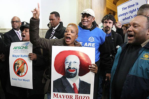 Mayor Nutter versus The Unions: The unending battle