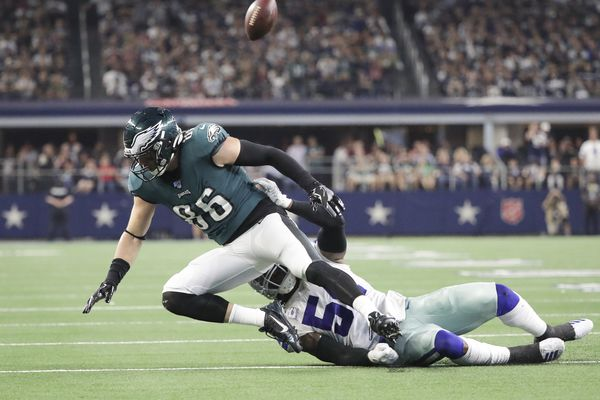 Eagles turnovers gift-wrapped Cowboys' early onslaught, and four other reasons for Sunday's loss | Paul Domowitch