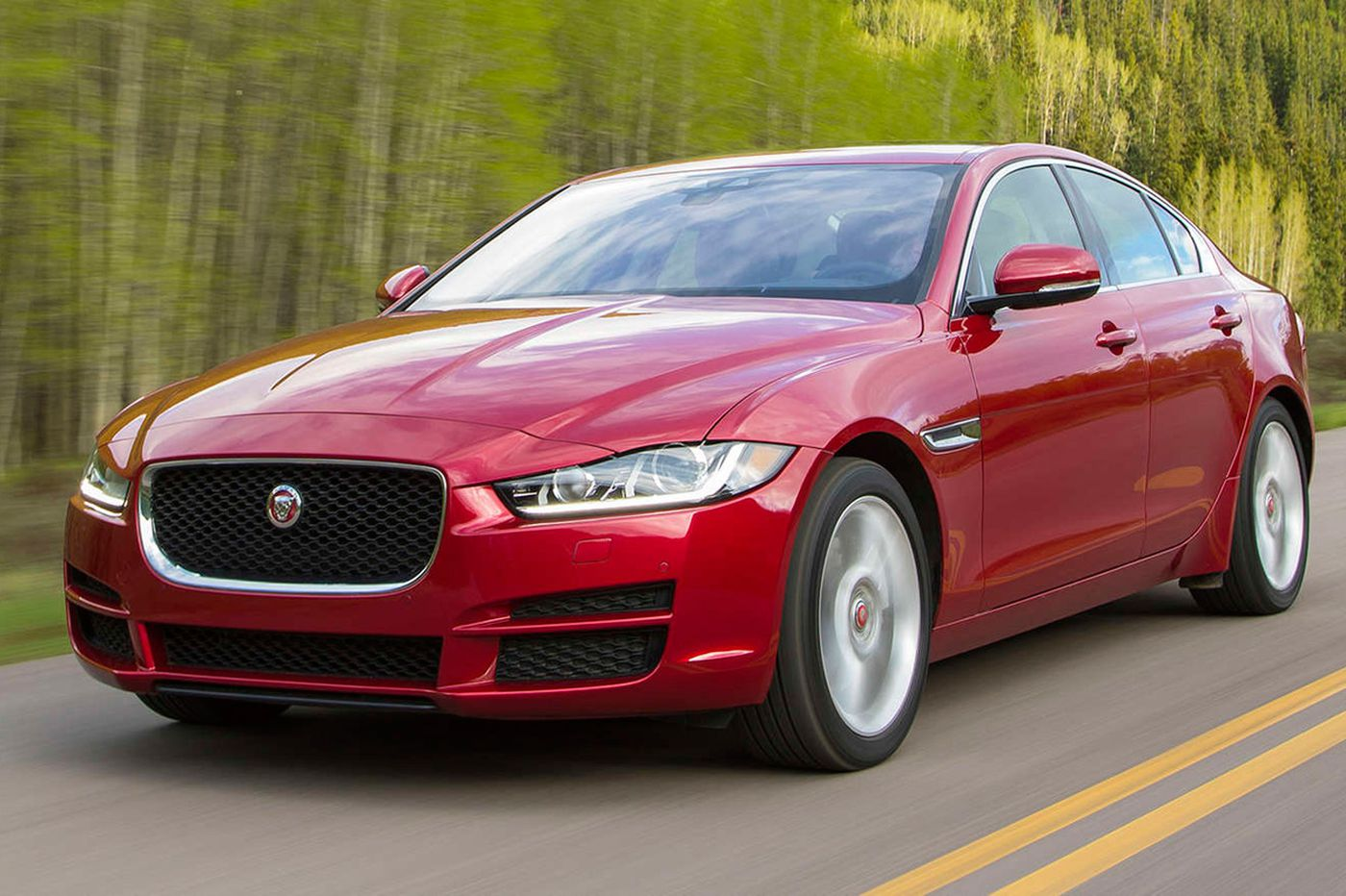 From Jaguar, two smooth, agile luxury cars