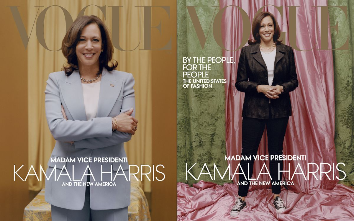 www.inquirer.com: Are we making Kamala Harris' controversial Vogue cover all about us? | Elizabeth Wellington