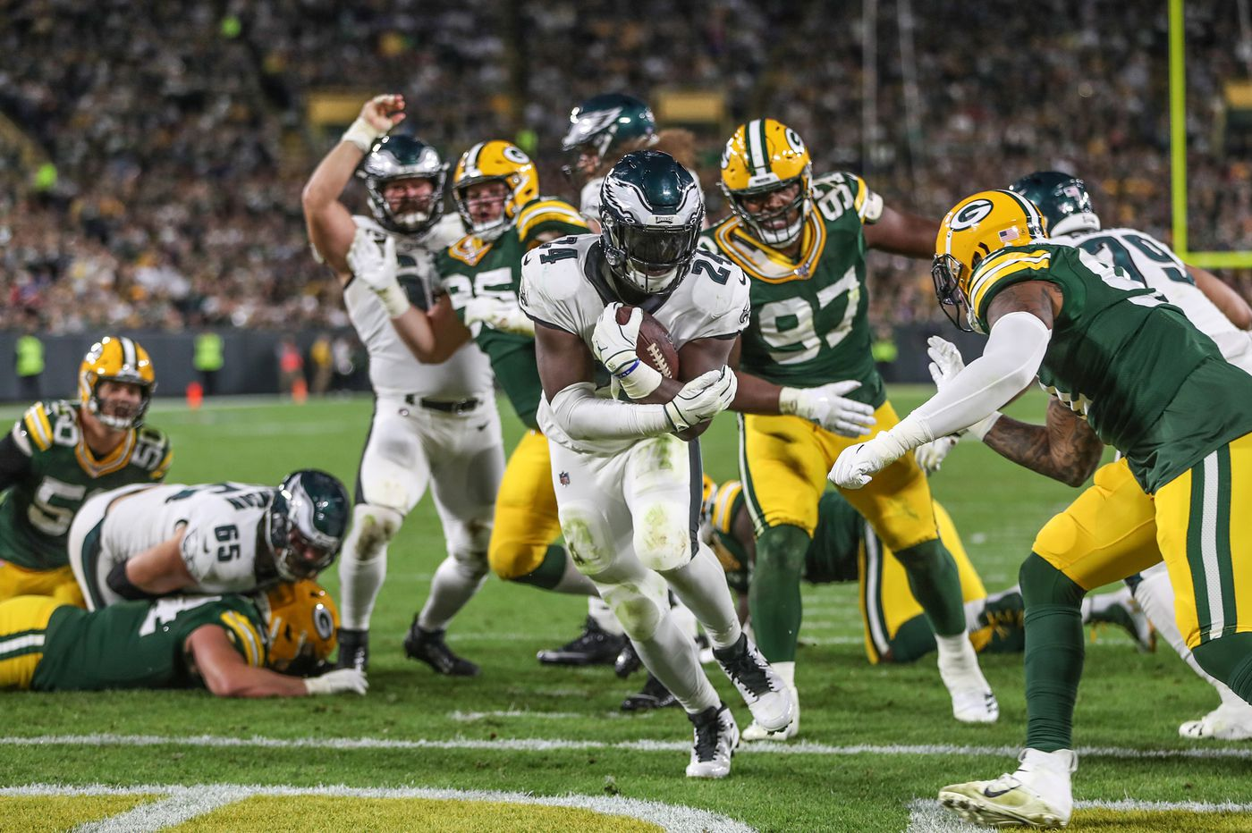 Eagles Packers Five Takeaways From Thursday Night S Win At Lambeau Field Paul Domowitch