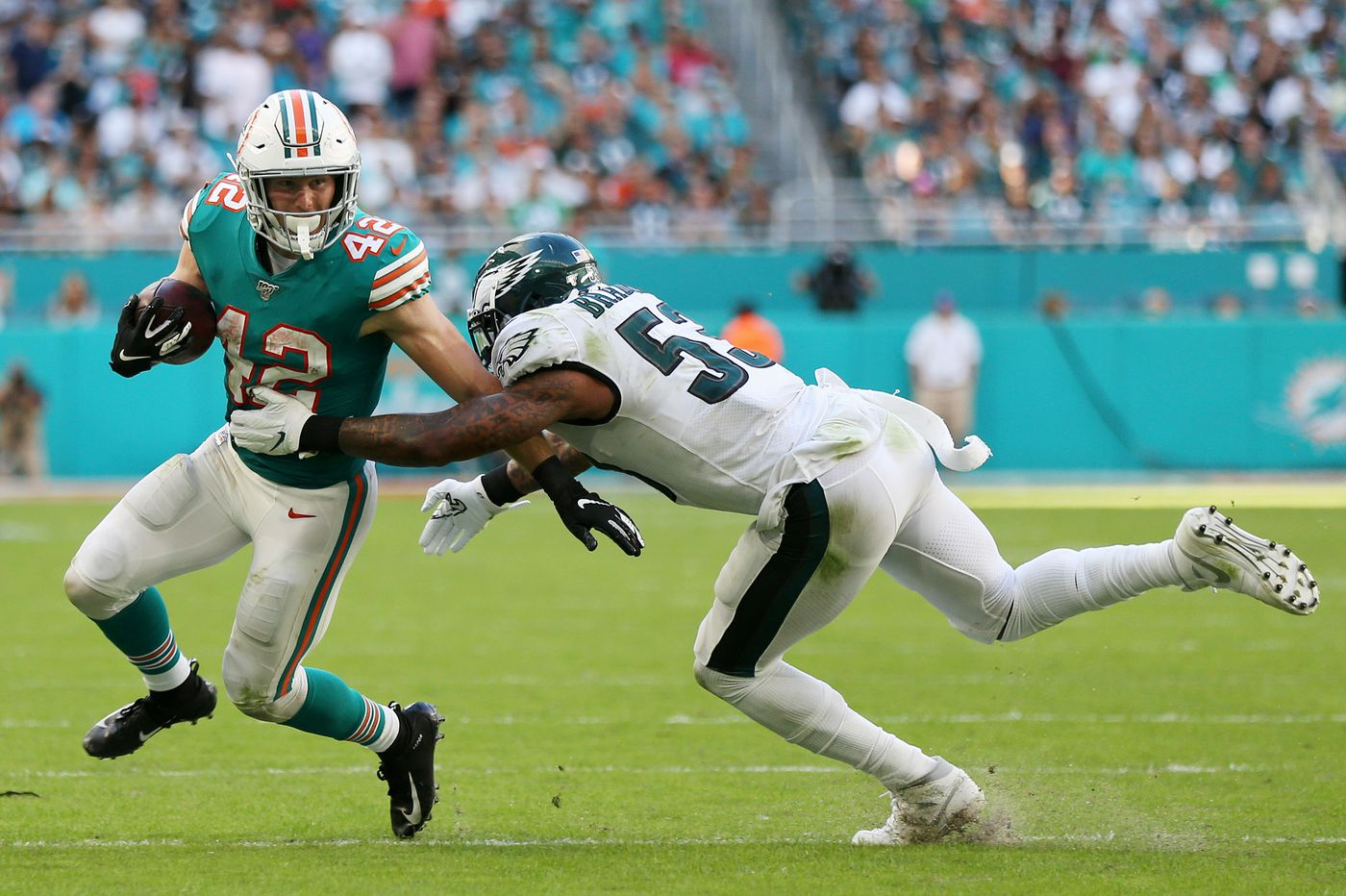 No defense dooms Eagles in loss to Miami Dolphins, and other takeaways | Bob Ford