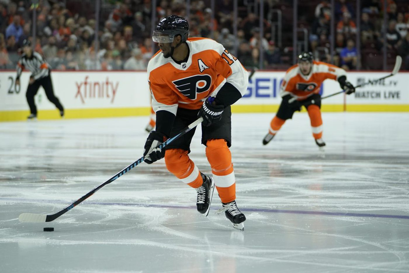 A look at the Flyers' roster