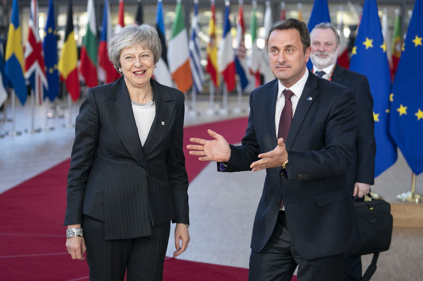 As E.U. leaders gather in Brussels over Brexit, Britain's May says no to reelection