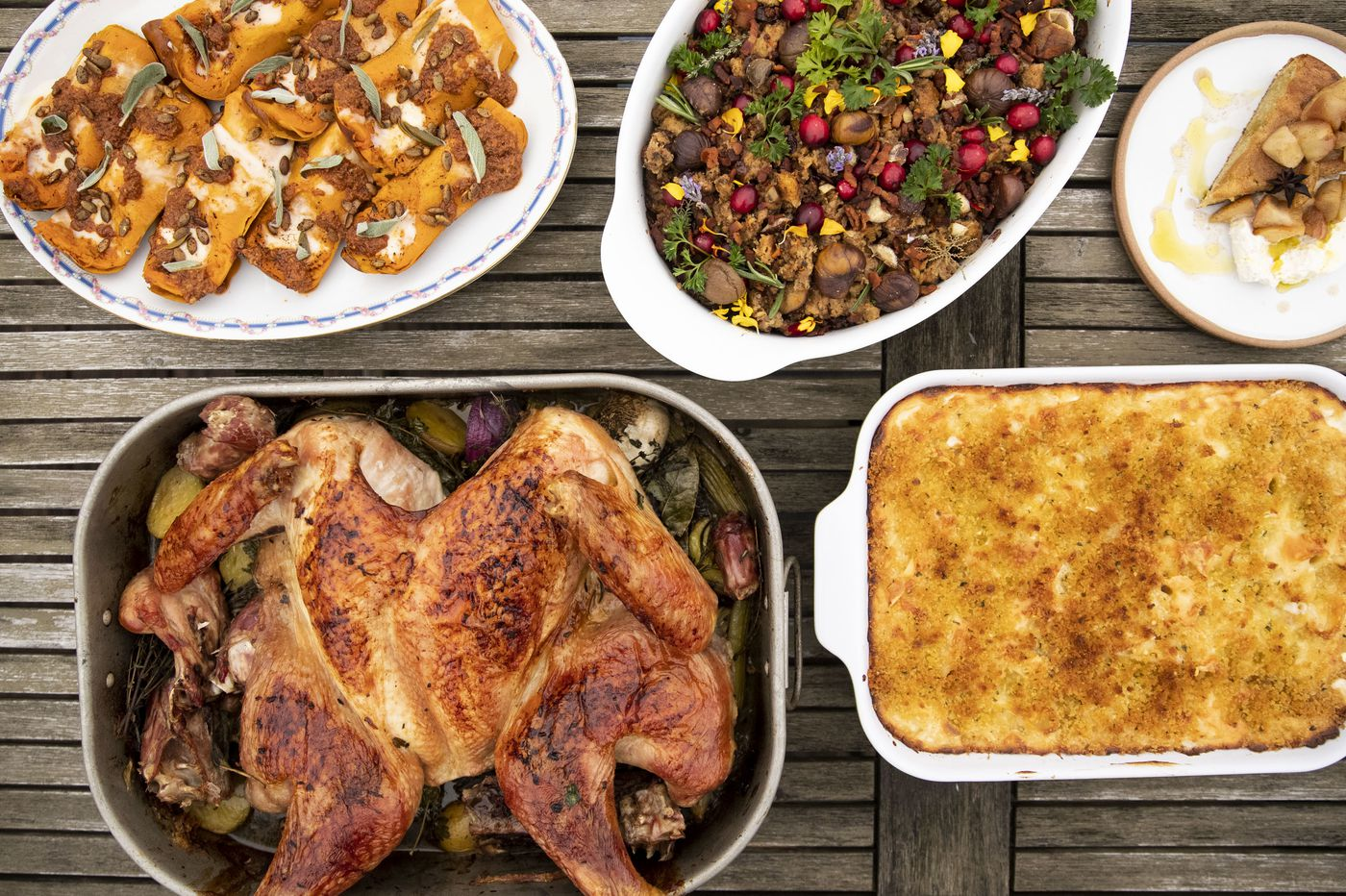 We asked 4 of Philly's top chefs to make Thanksgiving dinner. Here's what they cooked.