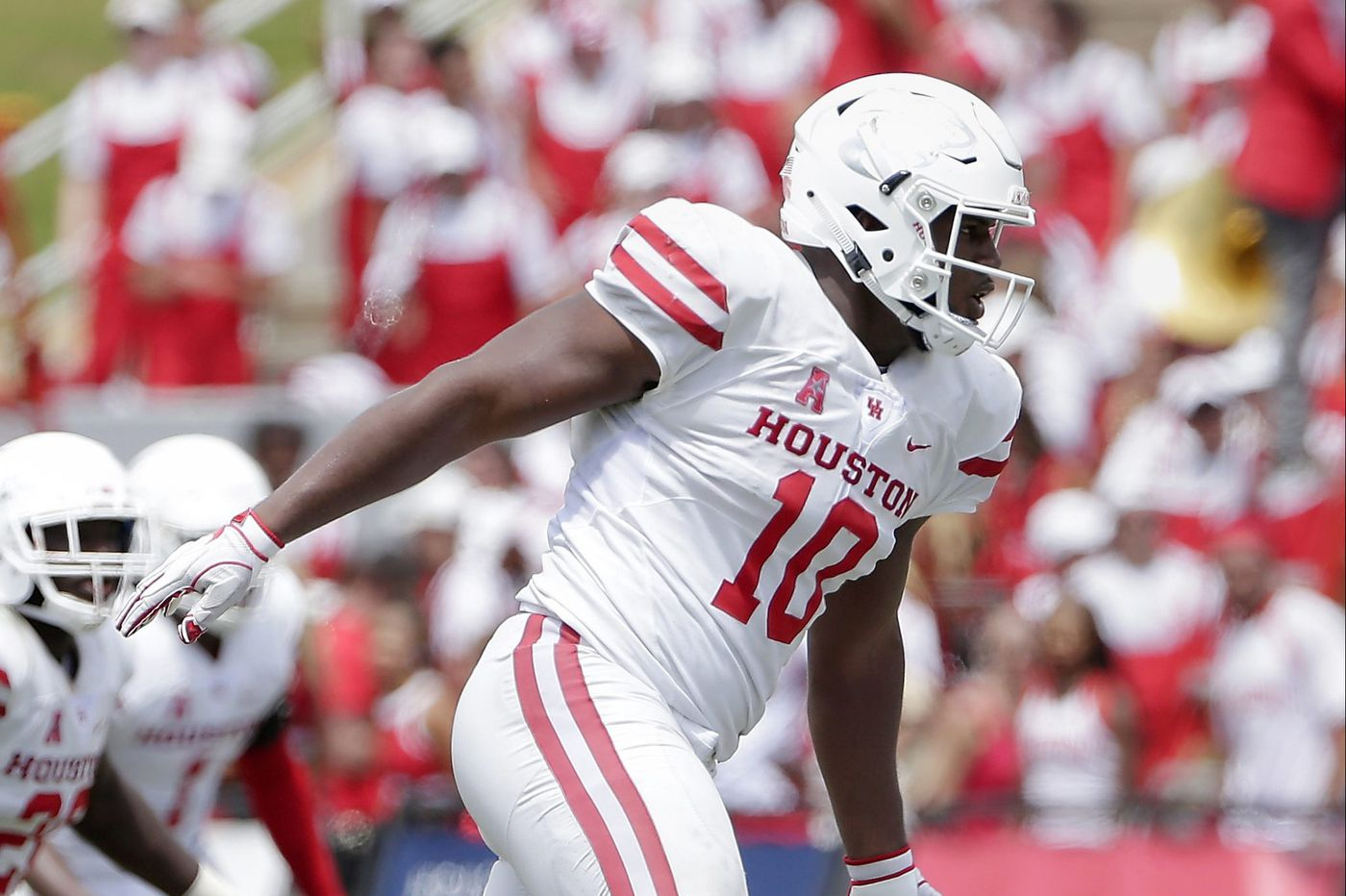 Houston star Ed Oliver 'day to day' for Saturday's game against Temple