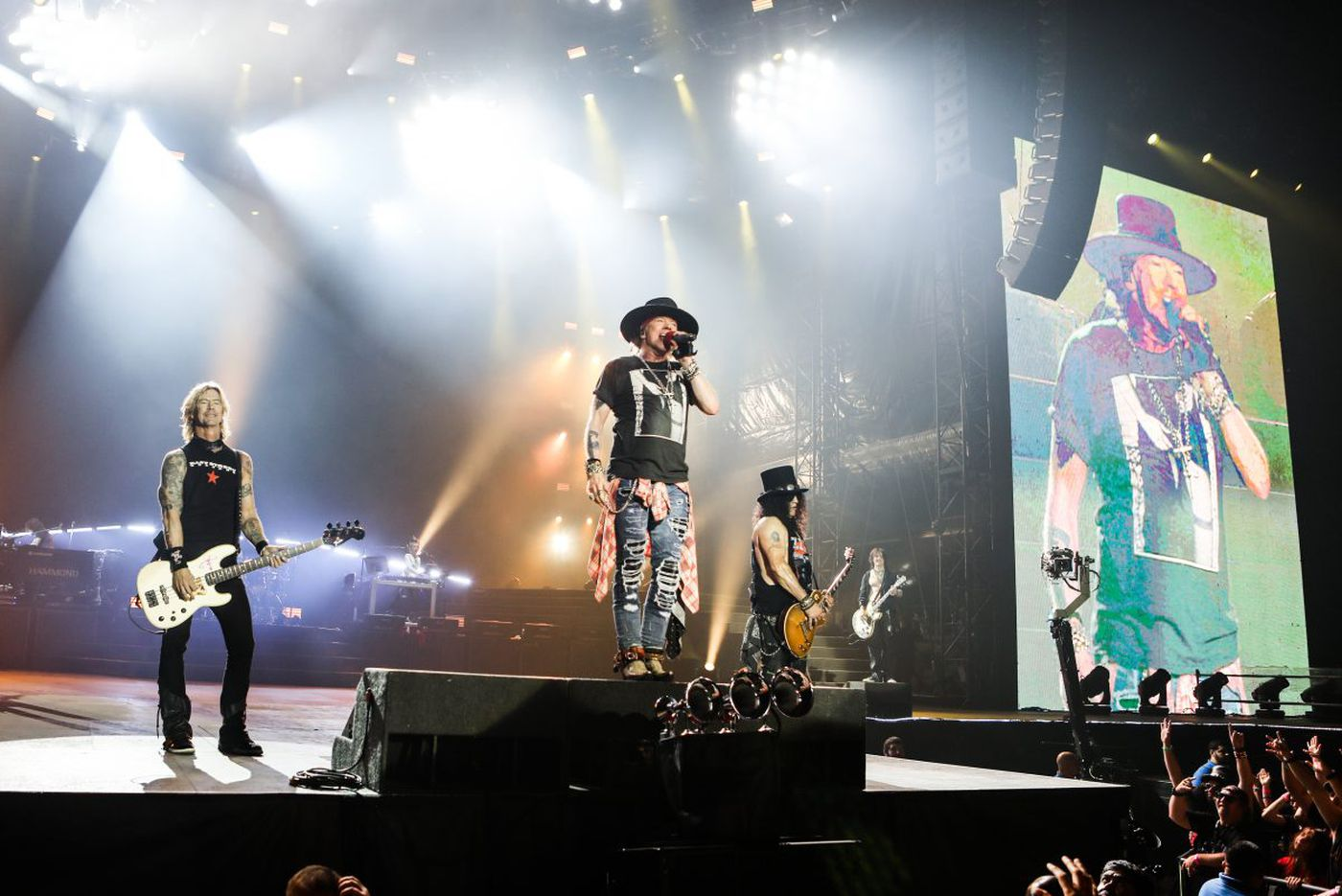 Meet the new Guns N' Roses: punctual, professional, and still defiant