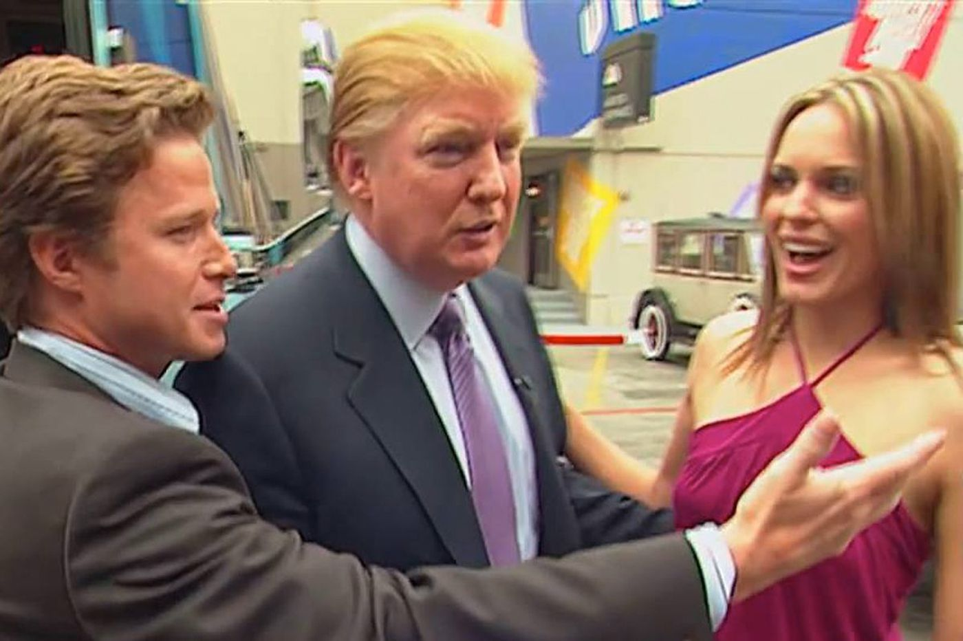 'Access Hollywood' fires back at Trump: 'The tape is very real'