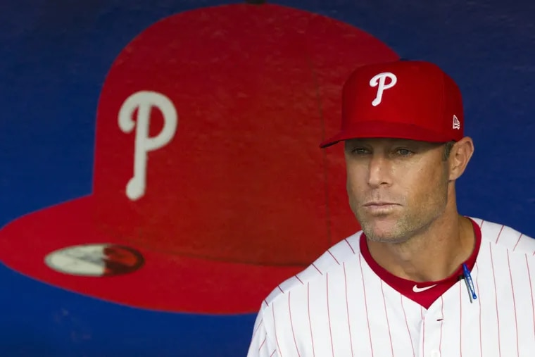 Gabe Kapler was director of player development for the Dodgers before he took over as the Phillies' general manager.