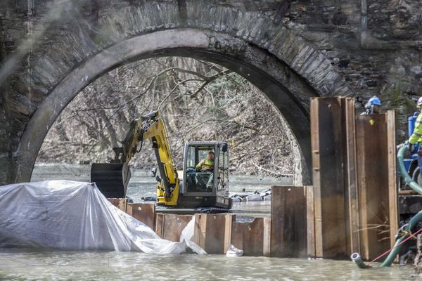 This Philly bridge is the oldest of its kind in the country, and it's getting a much-needed fix