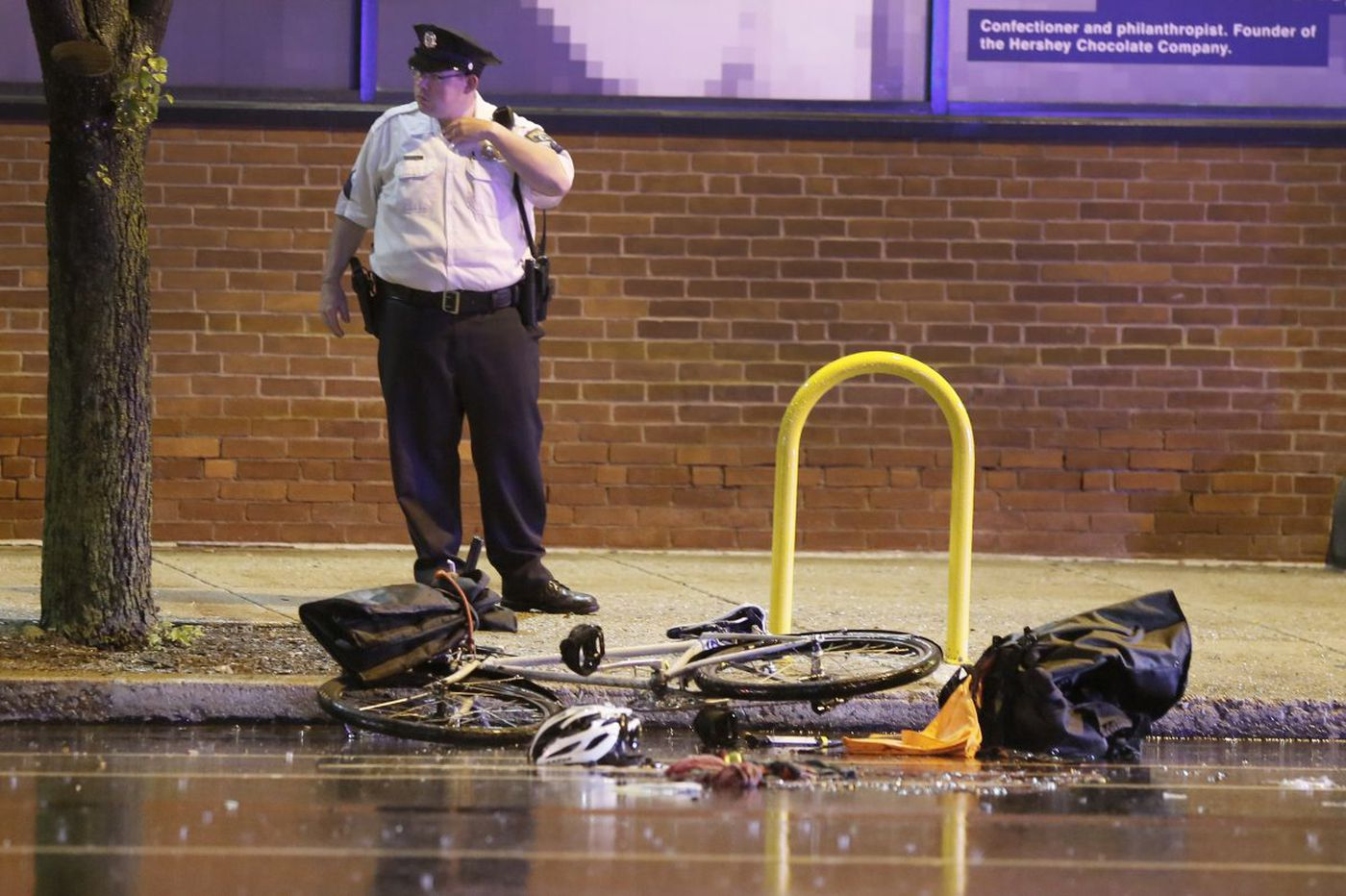 Bicyclist killed in Spring Garden collision was working as courier