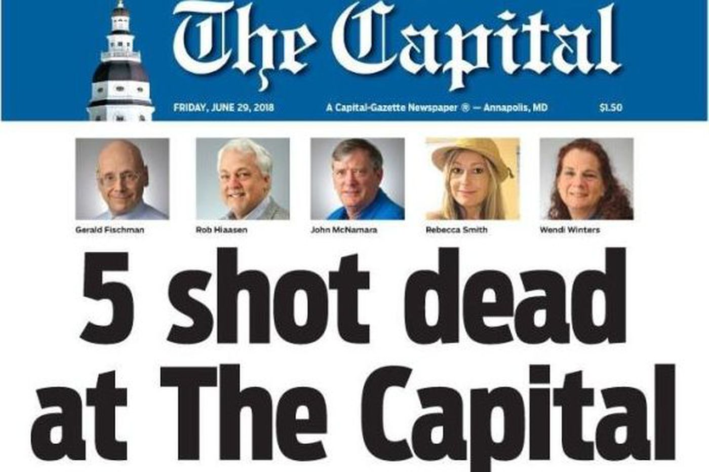 Capital Gazette shooting: What we know, the latest