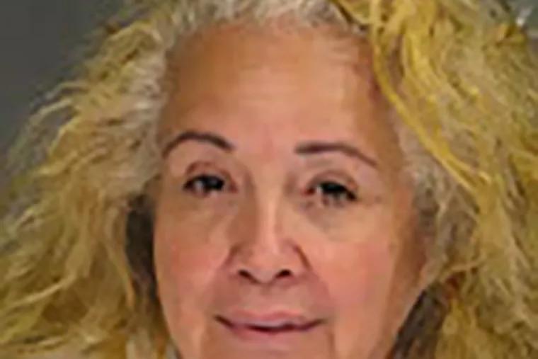 Bucks County mugshot of Nydia Neubauer (FILE)